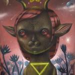 """""""Nahual"""", oil on canvas"""