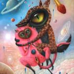 """Saturnalia"", oil on canvas"