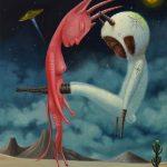 "Allegory Serie  ""La Siesta"" oil on linen"